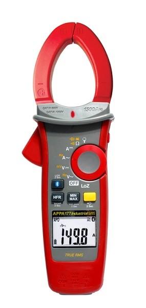 Электроизмерительные клещи серии APPA 170. Беспроводной интерфейс, регистратор и расширенные диапазоны измерений по току и напряжению