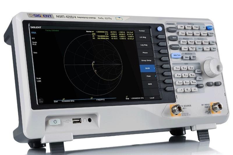 Бюджетный анализатор сигналов и спектра до 3,2 ГГц - АКИП-4205/4