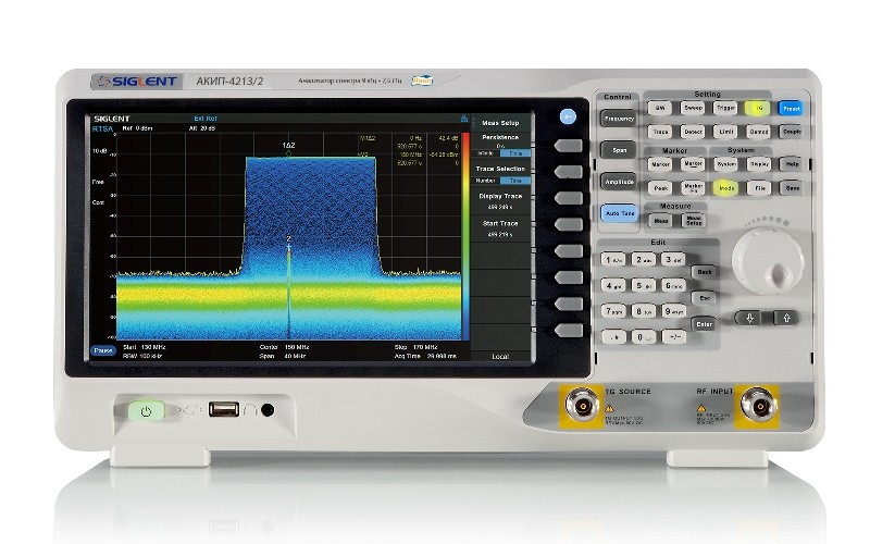 Серия Анализаторов спектра АКИП-4213 до 7,5 ГГц