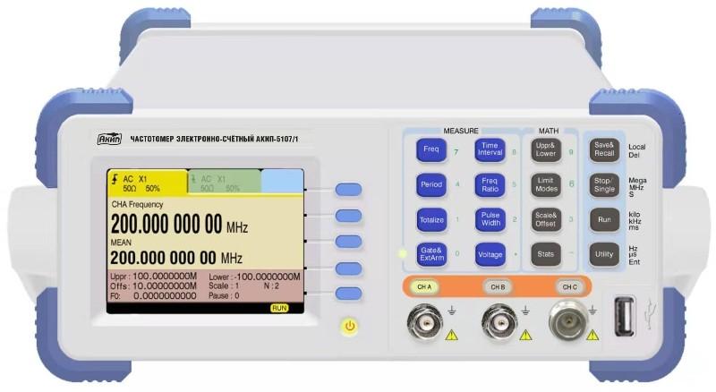 Больше частотомеров электронных и счетных! Расширение модельного ряда частотомеров АКИП™