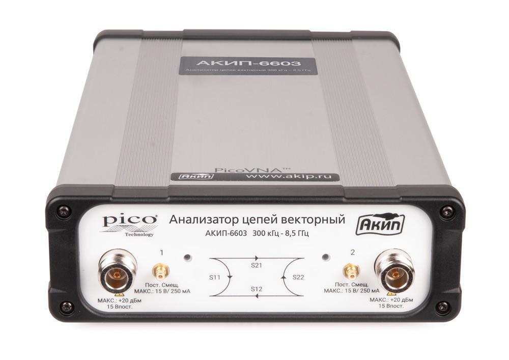 Новый векторный анализатор цепей АКИП-6603.