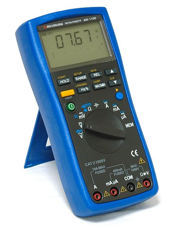 Интеллектуальный цифровой мультиметр АМ-1108