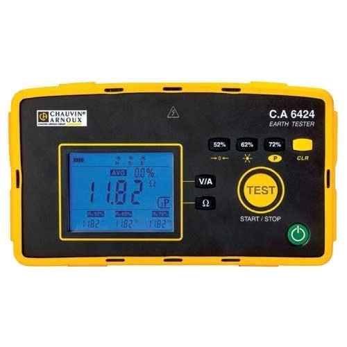 Новые измерители сопротивления заземления CA6422 и CA6424 ! Функциональность и удобство в корпусе IP65!