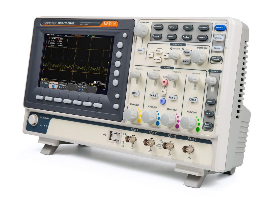 Мощный, доступный, твой: цифровой осциллограф серии GDS-71000B!