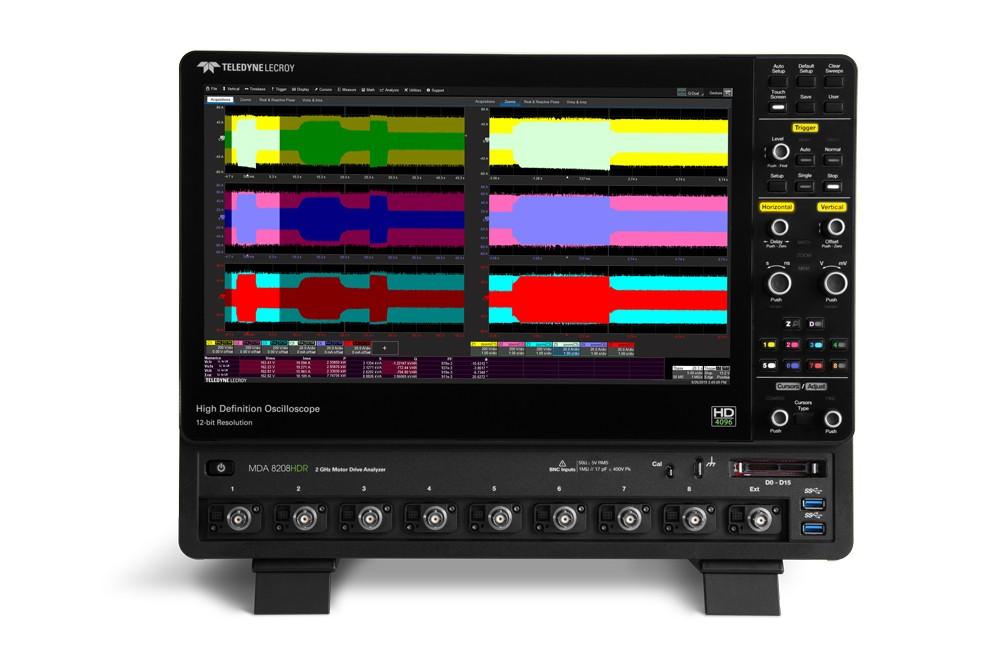 MDA 8000HDR - новые анализаторы мощности электроприводов и асинхронных двигателей Teledyne LeCroy