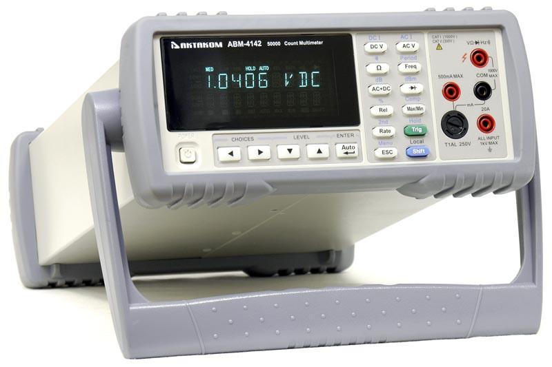 Новые лабораторные мультиметры экономного класса Актаком