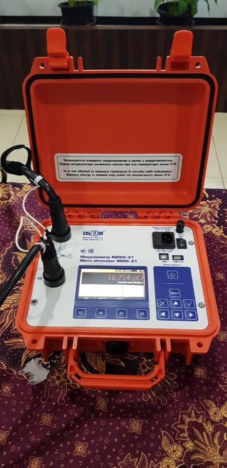 Отзыв об использовании микроомметров МИКО в Индонезии