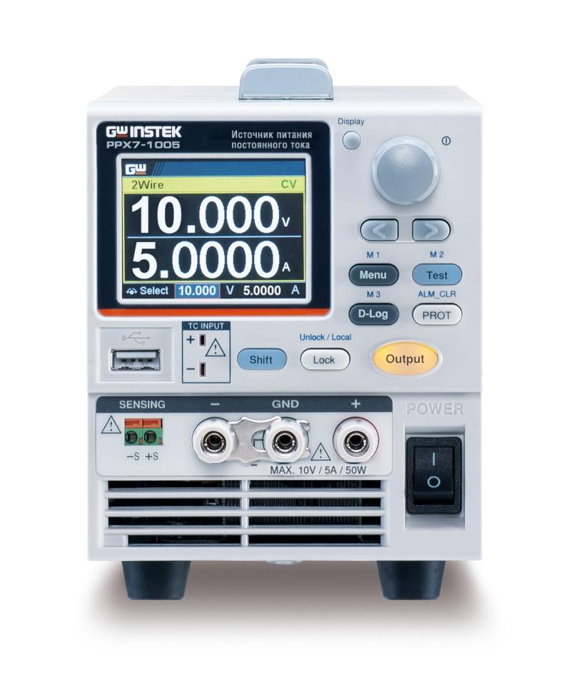 Новая серия источников питания постоянного тока GW Instek PXX7