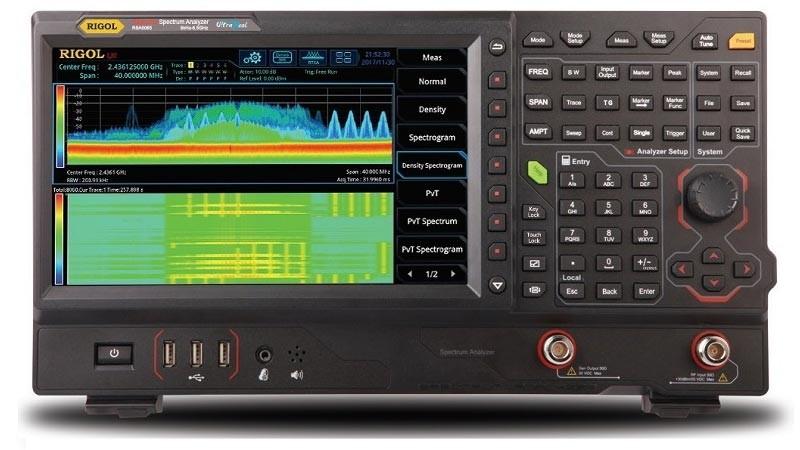 Снижение цен на анализаторы спектра Rigol реального времени RSA5000