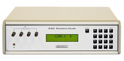 М-602A - Программируемый декадный магазин сопротивлений