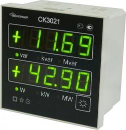 СК3021 - цифровой щитовой ваттварметр (CK 3021)