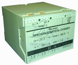 СН3020/1-3-220-1 - преобразователь измерительный щитовой многофункциональный (CH3020/1-3-220-1)