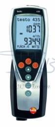testo 435-3 (0560 4353) - многофункциональный измерительный прибор для систем ОВК и оценки качества воздуха в помещениях