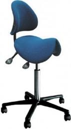 АРМ-3503-200 - антистатический стул-седло со спинкой Актаком (APM-3503-200)