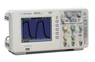 DSO1072B - цифровой запоминающий осциллограф Agilent (Keysight)