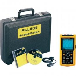 FLUKE 125/S - осциллограф-мультиметр (скопметр) цифровой запоминающий + набор принадлежностей SCC120 (Fluke125 S)