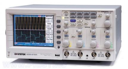 GDS-2204 - осциллограф цифровой запоминающий GW Instek (GDS2204)
