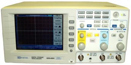 GDS-820C - осциллограф цифровой запоминающий GW Instek (GDS820 C)