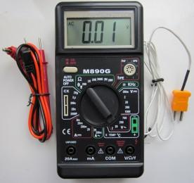 M890G - мультиметр цифровой M 890G