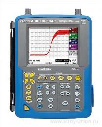 OX7042B-CK - портативный индустриальный осциллограф + опция анализатора качества эл. энергии и ПО Chauvin Arnoux (OX 7042 B CSD)