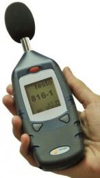 testo 816-2 (0560 8162) - цифровой универсальный шумомер (testo816-2)