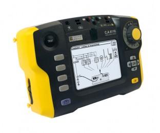 C.A 6116 (C.A 6115 NEW) - прибор для комплексной проверки элктроустановок Chauvin Arnoux (CA 6116, С.А 6116, СА 6116)