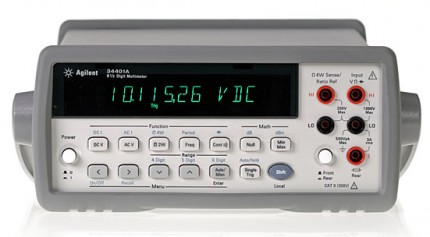 34401A - вольтметр-мультиметр цифровой прецизионный Agilent (Keysight)