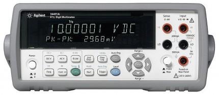 34411A - вольтметр-мультиметр цифровой прецизионный Agilent (Keysight)