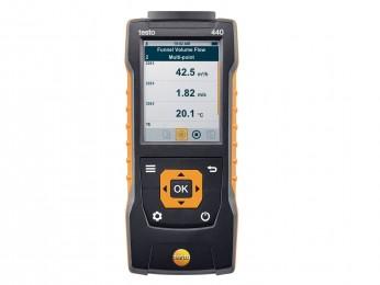 testo 440 (0560 4401) - Прибор для измерения скорости и оценки качества воздуха в помещении